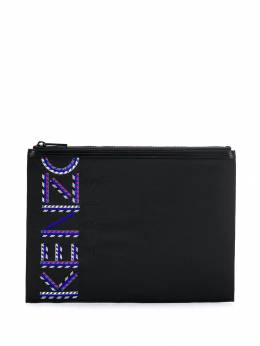 Kenzo - logo embroidered clutch bag 5PM060F0695059398000
