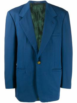 Versace Pre-Owned - 1980's notched lapel structured blazer S556B950396600000000