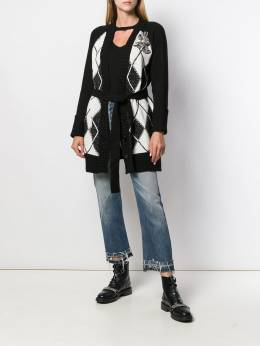 Twin-Set - patterned cardi-coat TP300695039963000000