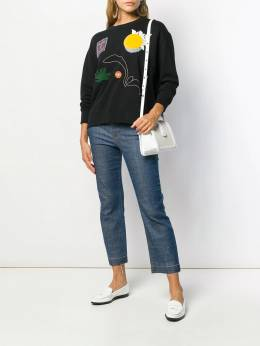 Tory Burch - multi-patch sweatshirt 65950565330000000000