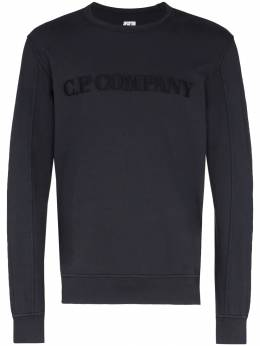 CP Company - logo embroidered sweatshirt 689A660056G956855530