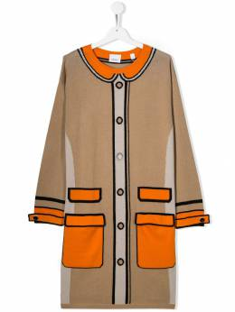 Burberry Kids - Trompe L'Oeil sweater dress 63359506536500000000