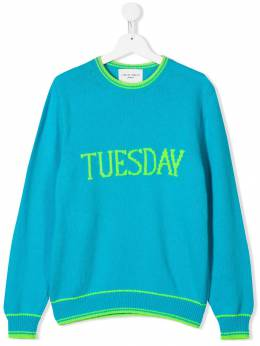 Alberta Ferretti Kids - Tuesday knit jumper 36595033559000000000