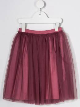 Il Gufo - tulle overlay skirt GN959H66989505596500
