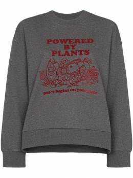 Stella McCartney - Powered By Plants print sweatshirt 039SNW65933969590000