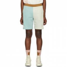 Lacoste Blue and Off-White Golf le Fleur* Edition Bermuda Shorts 192268M19300207GB