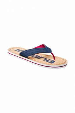 flip flops Iguana Lifewear SUNCORK_OUTER_SPACE_POMEGRANATE