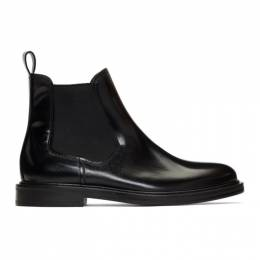 A.P.C.	 Black Johanne Chelsea Boots 192252F11300402GB