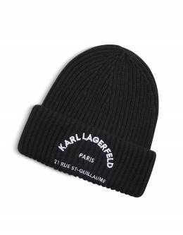 Шапка Rue St. Guillaume Karl Lagerfeld 96KW3403 Black