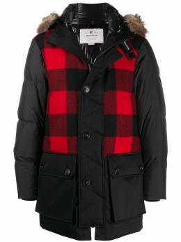 Woolrich - checked padded coat PS0859IY936995039666