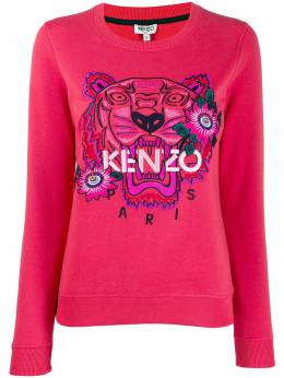 Kenzo - tiger embroidered sweatshirt 0SW3905XO95059368000