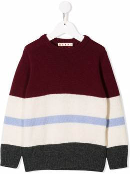 Marni Kids - striped knitted jumper 0IJM66GI950663330000