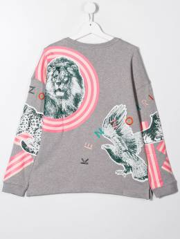Kenzo Kids - striped tiger sweater 56989505699500000000