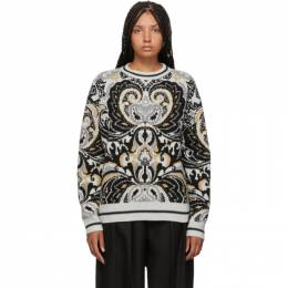See by Chloe Multicolor Giant Paisley Jacquard Sweater 192373F09600302GB