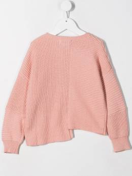 Stella McCartney Kids - asymmetric knit sweater 060SNM35950369950000