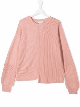 Stella McCartney Kids - asymmetric hem jumper 060SNM35950336600000