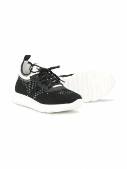 Baby Dior - lace-up sneakers S09SHON9503396600000