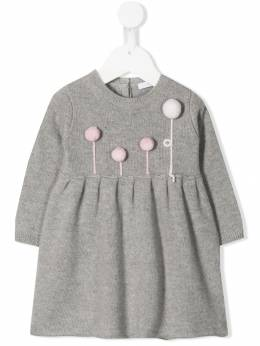 Il Gufo - wool sweater dress VT636EM0069505563300
