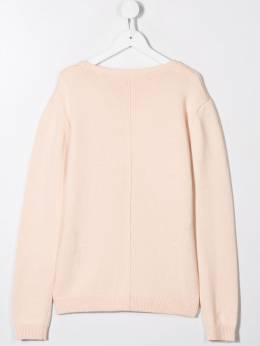 Chloé Kids - round neck jumper A8355B95363603000000