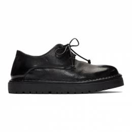 Marsell Black Gomme Pallottola Derby Oxfords MWG353