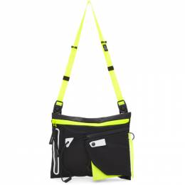 Master-Piece Co Black Game-Neon Bag 192401M17002201GB