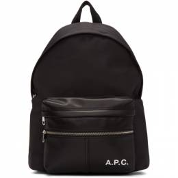 A.P.C.	 Black Camden Backpack 192252M16600201GB