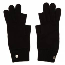 Rick Owens Black Larry Touchscreen Gloves 192232M13500201GB