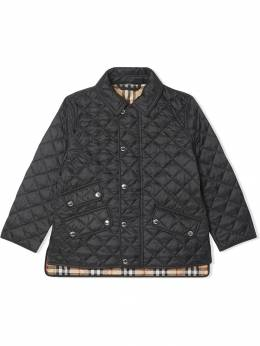 Burberry Kids - diamond quilted jacket 98539506689900000000