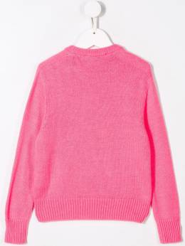 Msgm Kids - sequined logo jumper 66695360969000000000