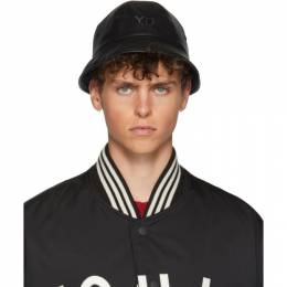 Y-3 Reversible Black Logo Bucket Hat 192138M14000201GB