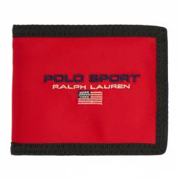 Polo Ralph Lauren	 Red Polo Sport Wallet 192213M16400201GB