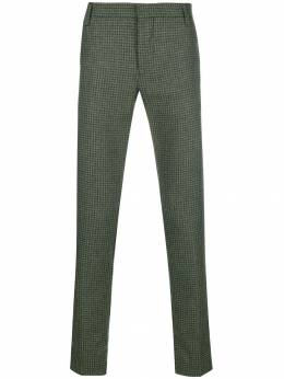 Entre Amis - houndstooth patterned trousers 80699558930339380000