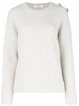 Dorothee Schumacher - brooch embellished drop-shoulder sweater 06993953099000000000