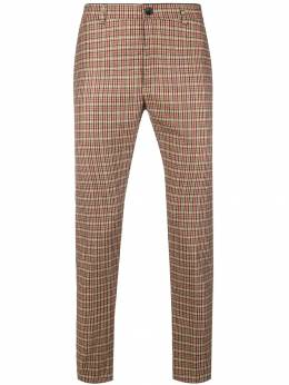 Department 5 - checked slim-fit trousers P65F9308930593930000