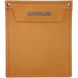 Jacquemus Brown Le Porte Wallet 192553M16300201GB