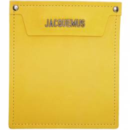 Jacquemus Yellow Le Porte Wallet 192553M16300101GB