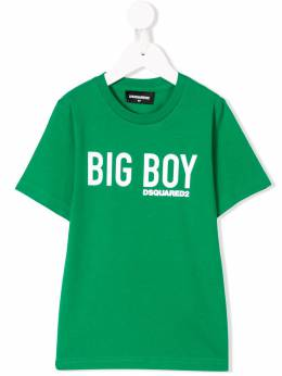Dsquared2 Kids - футболка с принтом 'Big Boy' 3A0D66MQ935396350000