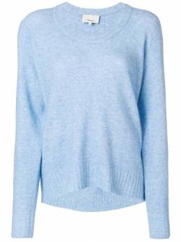 3.1 Phillip Lim - scoop neck knitted sweater 93656LVL939655800000