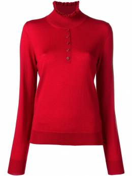 Carven - ruffled neck jumper 9PU65993505858000000