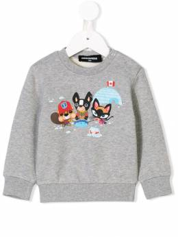Dsquared2 Kids - толстовка 'Igloo' с логотипом 39TD66G5933383630000