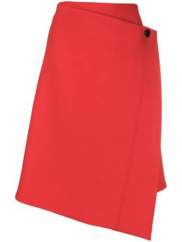 Dorothee Schumacher - asymmetric wrap skirt 96593090065000000000