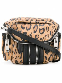 Alexander Wang - leopard print zipped crossbody bag 68X6556S939693380000