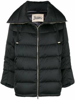 Herno cropped sleeve padded jacket PI0814D12170