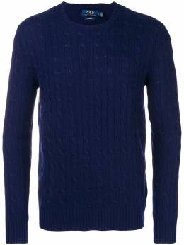 Polo Ralph Lauren	 cable-knit fitted sweater 710613099