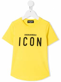 Dsquared2 Kids - футболка с принтом Icon 0M8D66MR933903630000