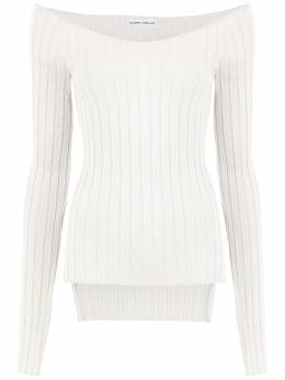 Gloria Coelho - off the shoulder knit blouse N6639055385600000000