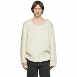 Jacquemus Off-White La Maille Berger Sweater 192553M20100403GB