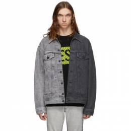 Diesel Grey Denim D-Poll Jacket SV4M 0090U