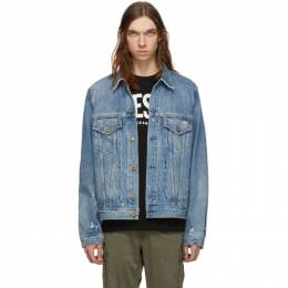 Diesel Blue Denim D-Bray Jacket SU1D 0BAVN