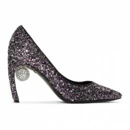 Nicholas Kirkwood Purple Glitter Maeva Pumps 192301F12202017GB